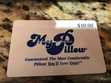 Caution When Checking Out on Mypillow.com - Free Shipping May Not Be Free After All