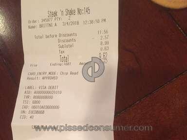Steak N Shake Waiter review 271134