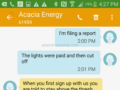 Acacia Energy Electricity Supply review 212318
