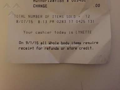 Whole Foods Market - Rude Cashier on E57th St, NY Lynette