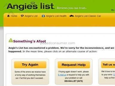 Angies List Membership review 5183