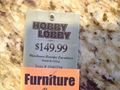 Hobby Lobby - Dishonest advertising