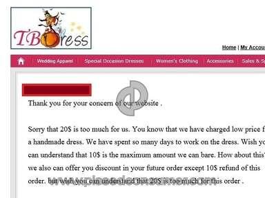 Tbdress Dress review 50907