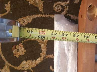 The Porch Swing Company - Website is misleading with dimensions.  Return policy is bad!