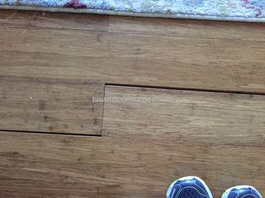 Floor And Decor - Purchased bamboo  flooring