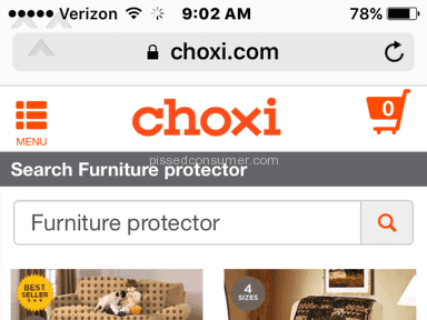 Choxi - Furniture Protector Review from Denver, Colorado