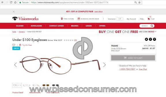 Visionworks Eyeglasses
