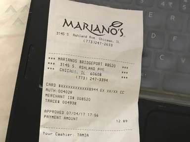Marianos - Charged wrong amount