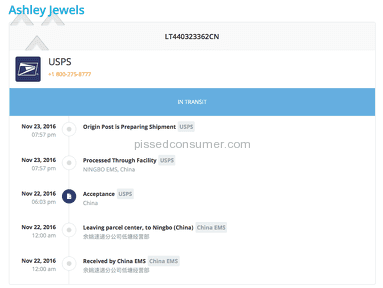 Ashley Jewels Shipping Service review 182986