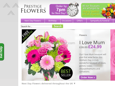 Prestige Flowers Flowers review 64303
