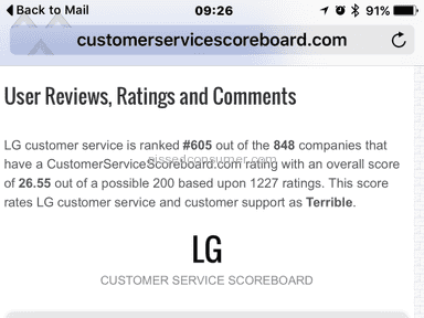 Lg Electronics Appliances and Electronics review 92277