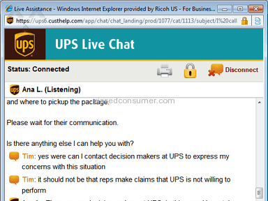 UPS Delivery Service review 57299