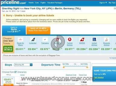 Priceline Travel Agencies review 56155