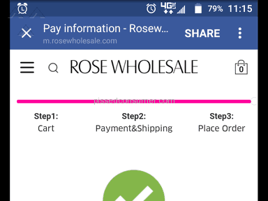 Rosewholesale - Shipping Service Review