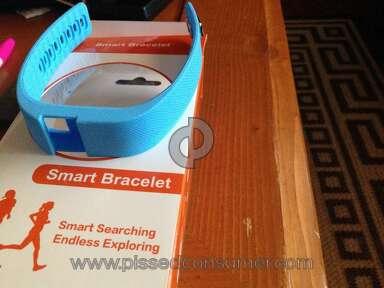 Tophatter - Main part missing on tracker bracelet