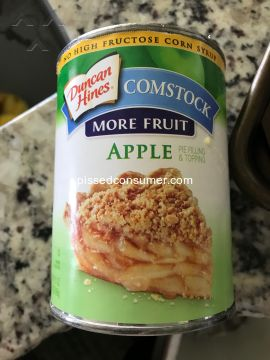 Duncan Hines Apple Pie Filling