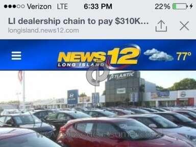 Atlantic Auto Mall Customer Care review 99791