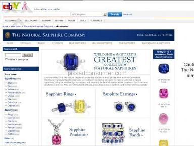 The Natural Sapphire Company Jewelry and Accessories review 5371