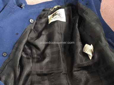 Burberry Coat review 195344