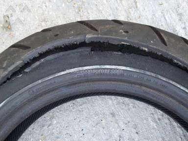 Harley Davidson - Rear tire flat with 20 miles, not replaced $480