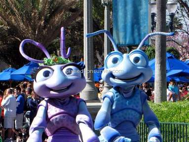 Walt Disney World - Disney World cut off Flik and Princess Atta from the Character Meet-&-Greets in the Parks.