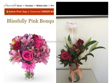 Avasflowers Blissfully Pink Bouquet review 130329