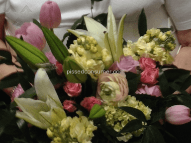 Justflowers  What A Surprise Arrangement review 133049
