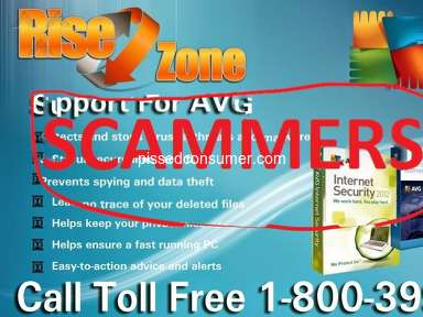 Risezone - Big Scammer in Technical support Industry