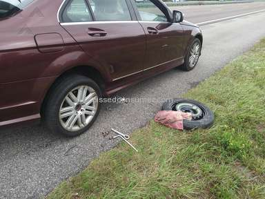 Geico - Left on the side of interstate 95 for 5 hrs