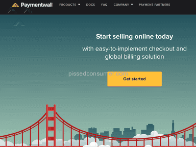Paymentwall Account review 103289