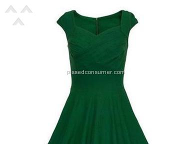 Vintage Green Tbdress