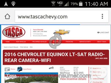 Tasca Chevrolet Dealers review 98299