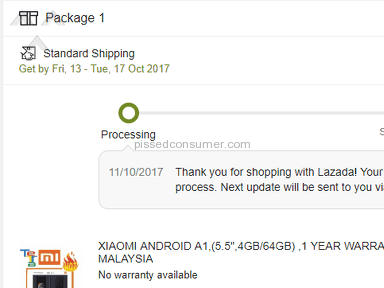 Lazada Malaysia - Seller Attitude And Item Still Not Send To Courier