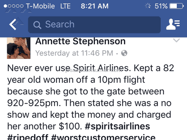 Spirit Airlines - Simple Review #1487514174