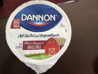 Dannon - Confusing product labeling