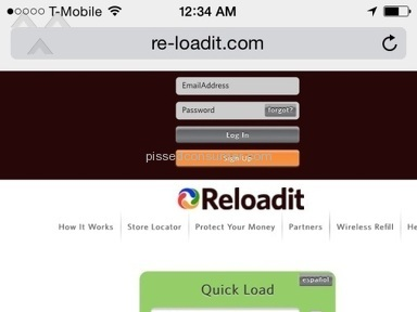 Reloadit - Website Review from Las Vegas, Nevada