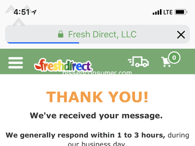 Fresh Direct - *** terrible