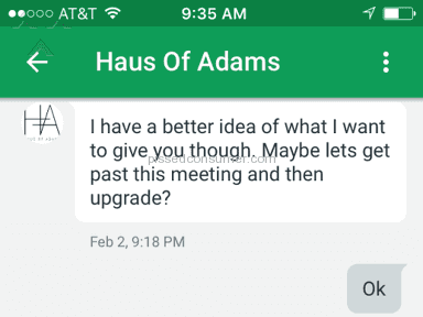 Haus Of Adams Web design review 115237