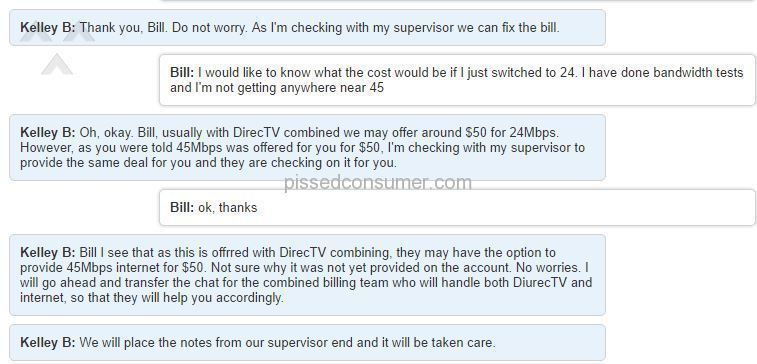 Direct Tv Internet Review >> Directv Bait And Switch Dec 13 2017 Pissed Consumer