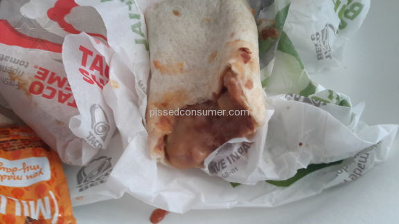 Taco Bell The Incredible Hulk Burrito