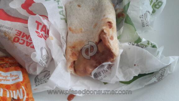 Taco Bell The Incredible Hulk Burrito