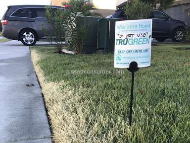 Trugreen Lawn Service review 171124