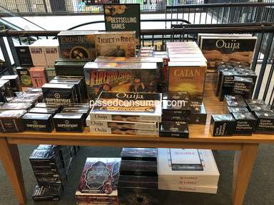 Barnes And Noble - Satanic displays