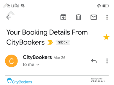 CityBookers - Fraud in airlines ticket booking.