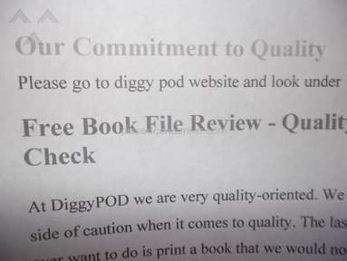 DiggyPOD - Formatting Errors in Edgar's Handbook