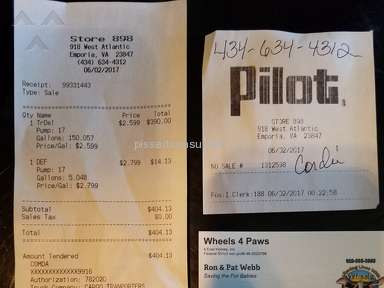 Pilot Flying J - Rude and incompetent employees