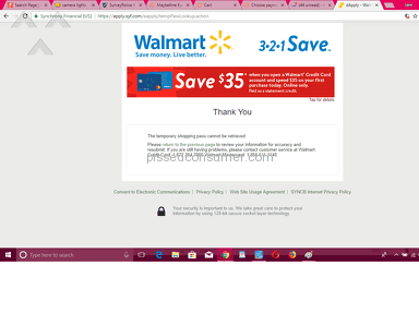 Walmart Technical Support review 244494