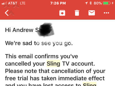 Sling Tv - Thief's/SCAMMERS
