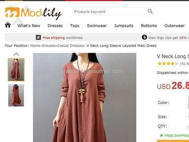 Modlily Shipping Service review 176438