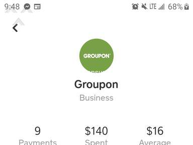 Groupon Gift Cards, Rewards and Cashbacks review 575671